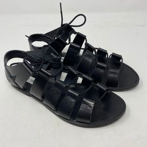 Steve Madden lace up sandals size 9